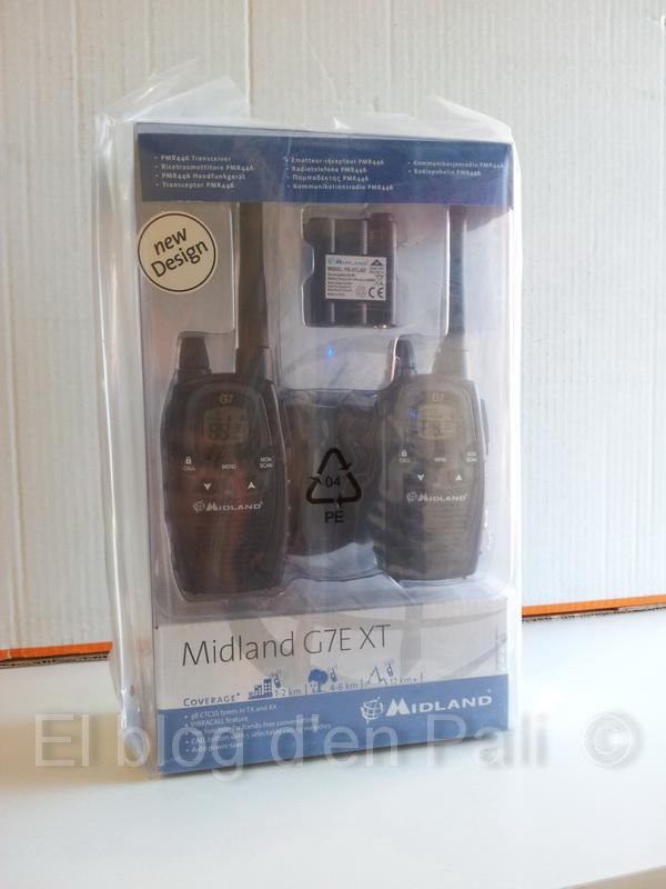 Obrint la caixa a un Alan Midland G7E XTR (XT v2)