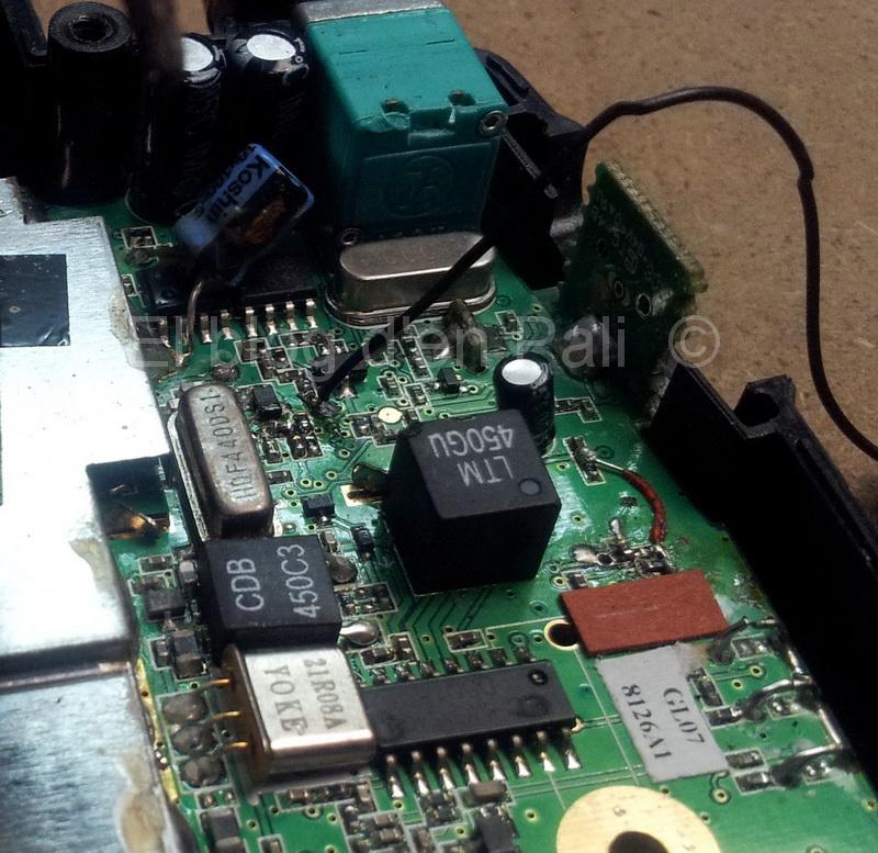 Reparació Alan Midland G7E XT